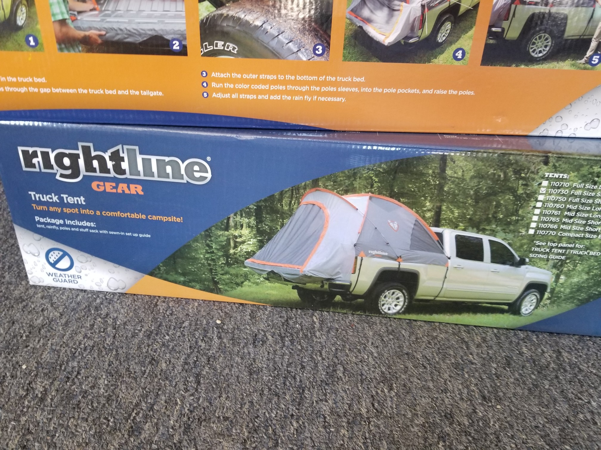Rightline Truck Tent